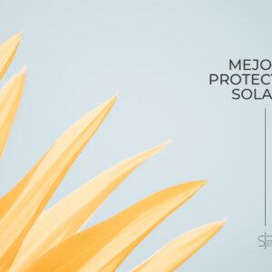 Imágen minimalista de portada de los mejores protectores solares
