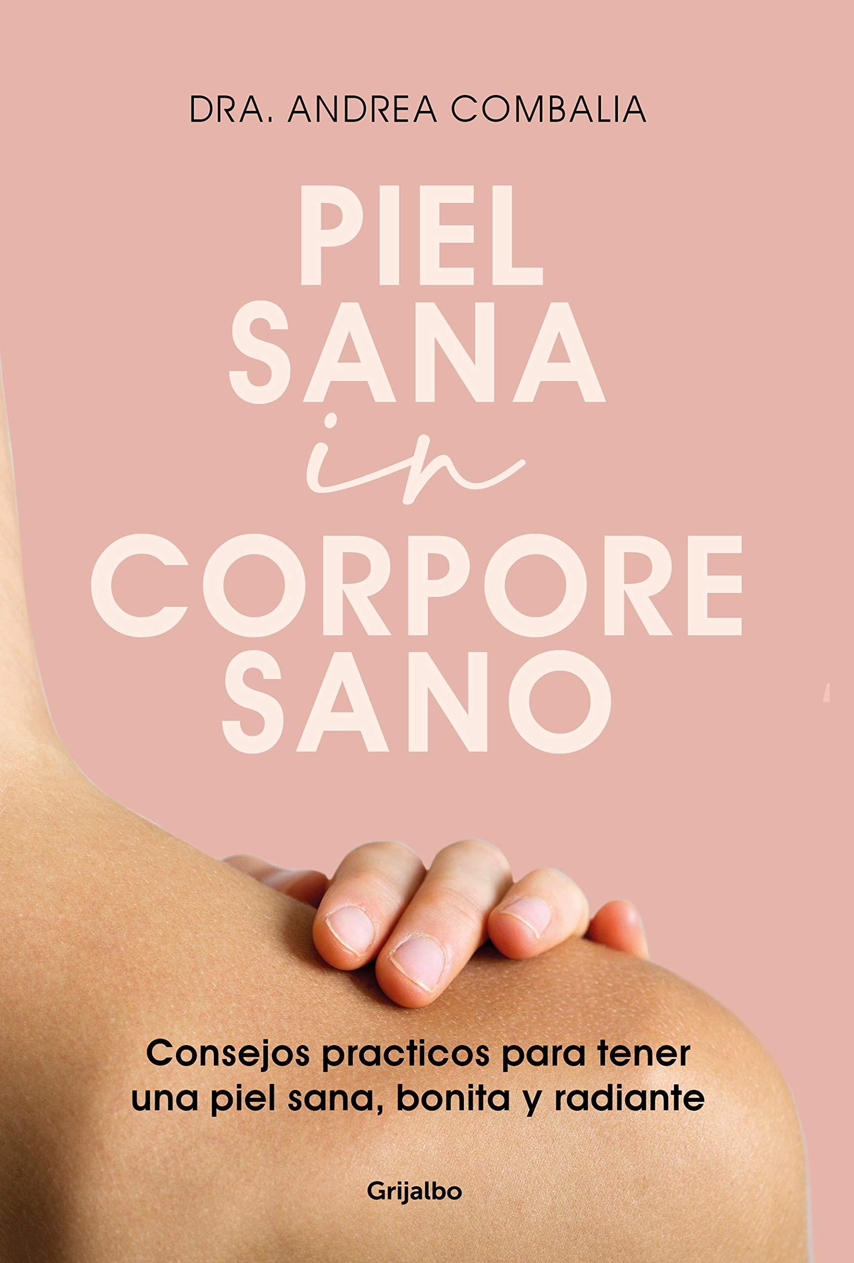 Cover libro piel sana in corpore sano. Libro cuidado piel
