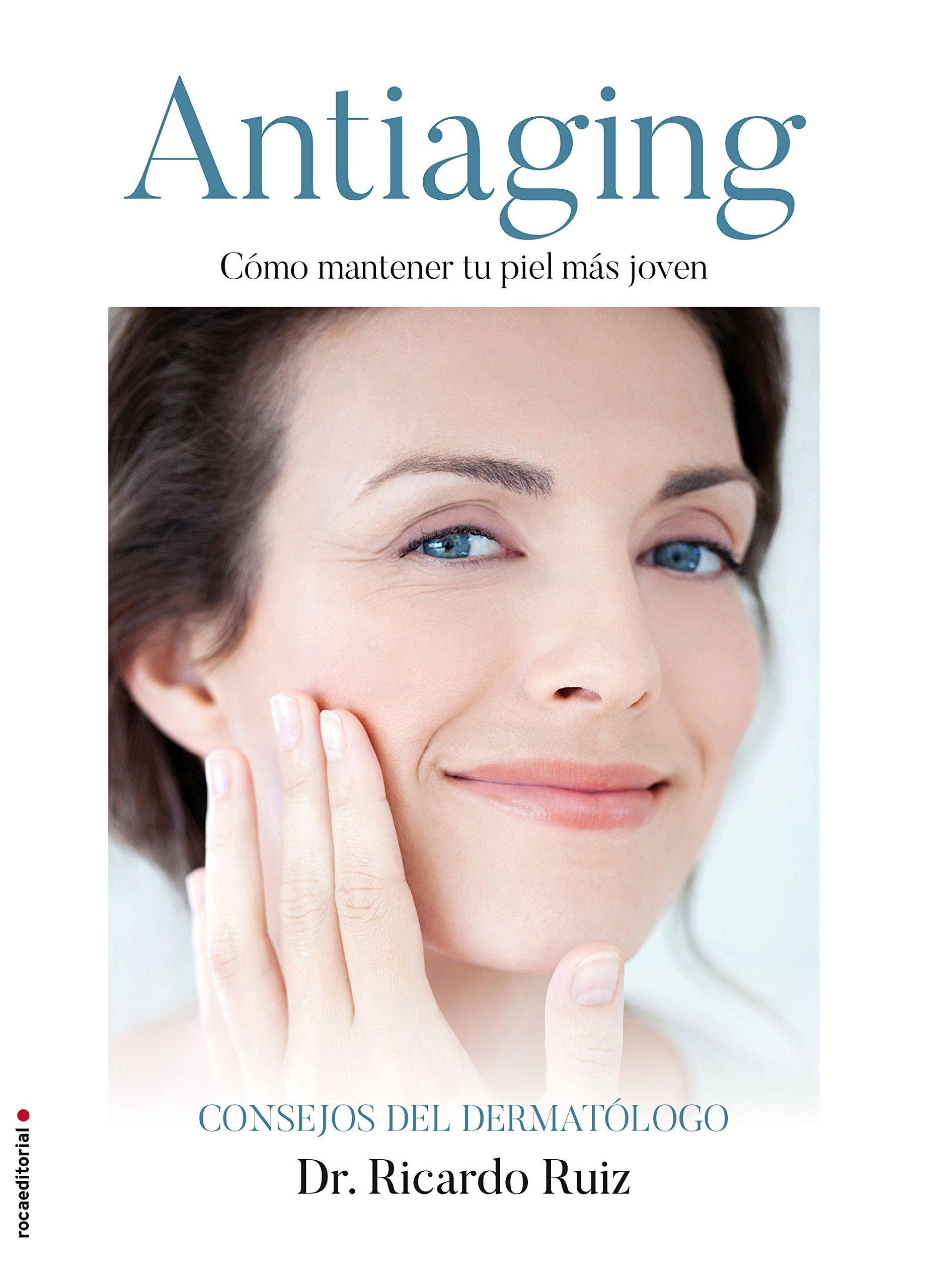 Cover de libro cuidado de la piel y antiaging, como mantener tu piel más joven.