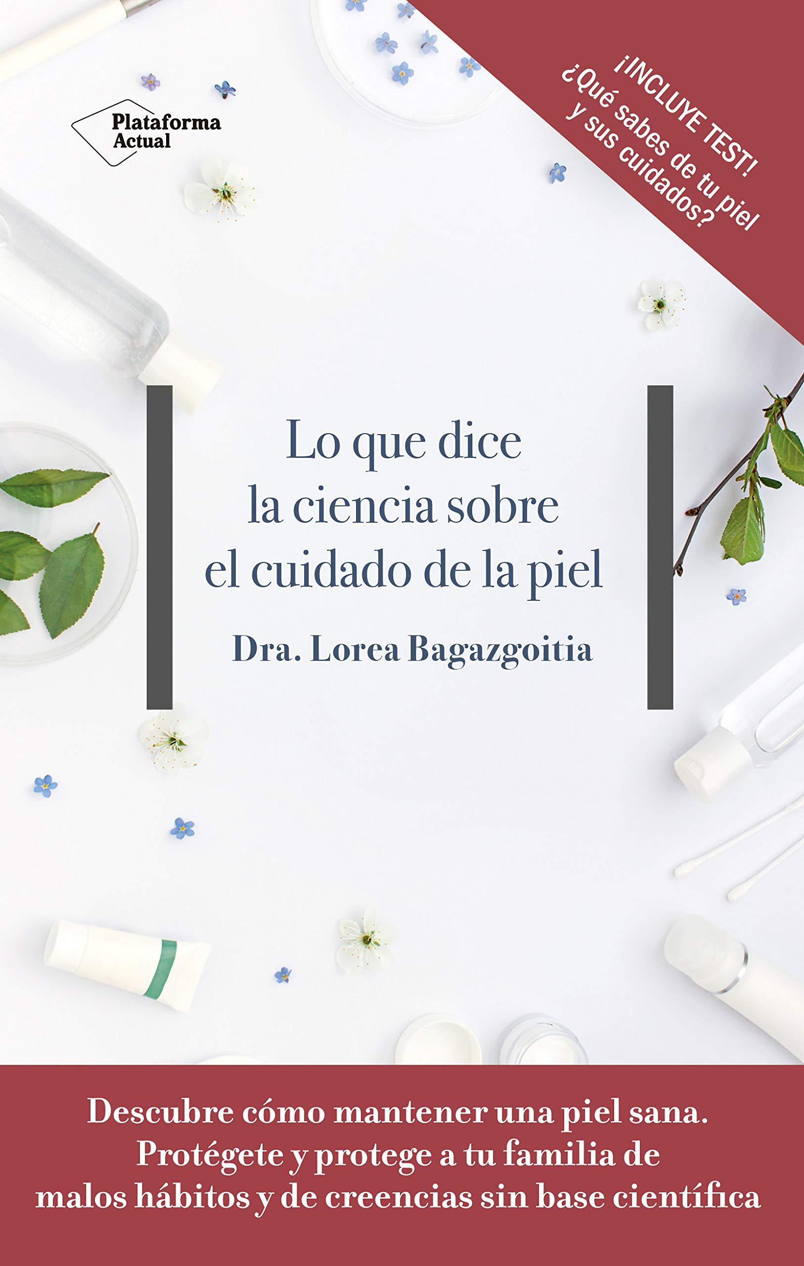 Cover del libro lo que dice la ciencia sobre el cuidado de la piel