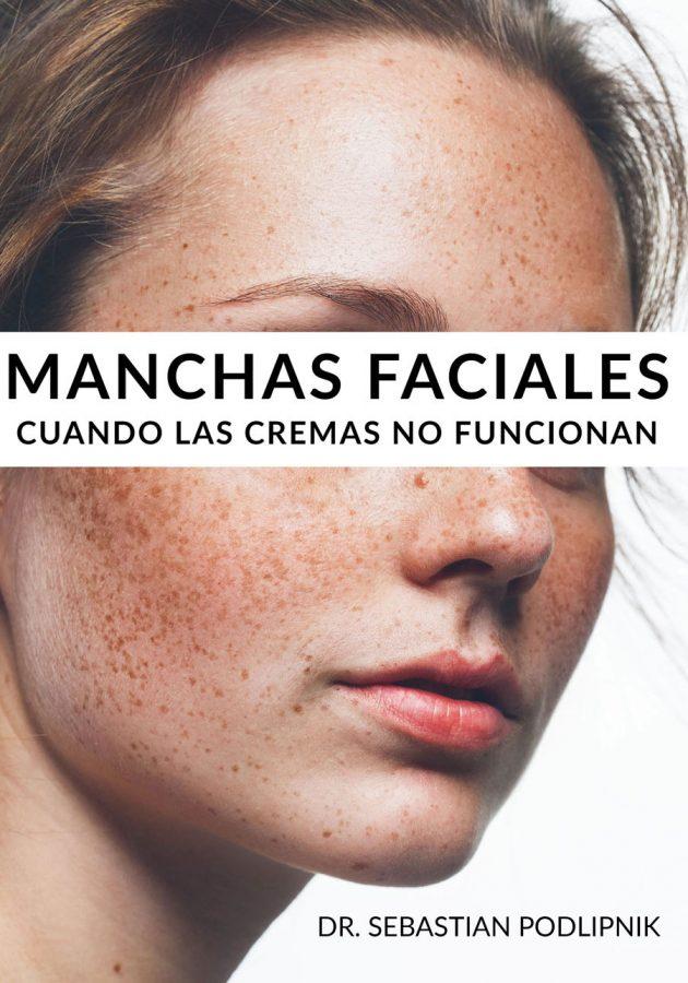 Libro cuidados de la piel sobre manchas faciales
